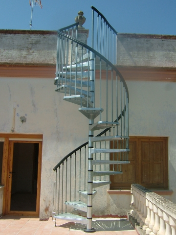 Propiedades del producto for Escaleras de hierro para exterior